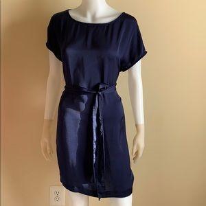 NWOT BB Dakota Sapphire Blue Tie Dress, S